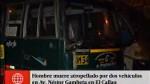 Callao: hombre murió atropellado en avenida Néstor...
