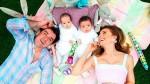 Elizabeth Álvarez y Jorge Salinas de fiesta por el primer año de sus mellizos - Noticias de amy elizabeth thorpe brousse