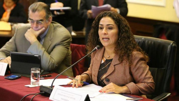 Cecilia Chacón, congresista fujimorista. Foto: Andina