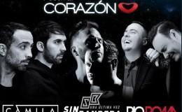 Sin Bandera y Camila volverán a Lima con romántico concierto