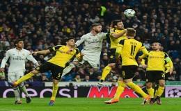 Real Madrid no pudo con Dortmund y empataron 2-2 en Champions
