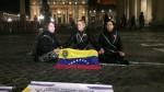 Lilian Tintori se encadena frente al Vaticano para exigir la liberación de presos - Noticias de vaticano