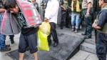 Caso Huaycán: trasladaron a los 34 detenidos a Lur...