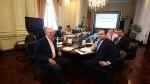 PPK y sus ministros muestran su apoyo a Saavedra desde la PCM - Noticias de juegos panamericanos lima