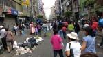 La Victoria: recogieron basura acumulada en Gamarra - Noticias de cercado de lima