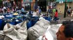 La Victoria: recogieron basura acumulada en Gamarra - Noticias de rodrigo iniguez cuadra