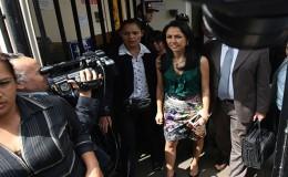 Nadine Heredia recusó a Héctor Becerril por adelantar opinión
