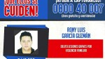 Rony García: Mininter ofrece S/ 15 mil por información que ayude a capturarlo - Noticias de javier villa stein