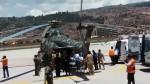 Cusco: llegó segundo helicóptero con policías heridos - Noticias de mamani rodriguez