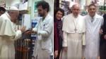 Francisco acudió a una tienda de Roma para comprarse unos zapatos ortopédicos - Noticias de roma