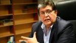 """García sobre investigación por lavado de activos: """"No hay nada que ocultar"""" - Noticias de aurelio pastor"""