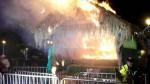 Cusco: pirotécnicos causaron incendio de Nacimiento en la Plaza Mayor - Noticias de mayor pnp