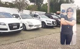 Peter Ferrari gastó más de 600 mil dólares en lujosos autos