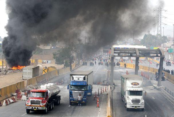 Facebook: Convocan nueva marcha contra peaje en Puente Piedra