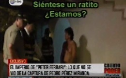 Peter Ferrari: estas son las imágenes exclusivas de su captura
