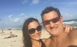 Connie Chaparro dedicó romántico mensaje a su esposo Sergio Galliani