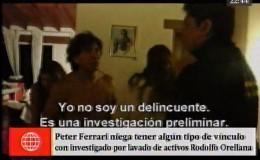 Peter Ferrari negó relación con Rodolfo Orellana, pero este lo contradice