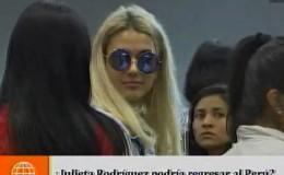 ¿Julieta Rodríguez puede regresar al Perú?