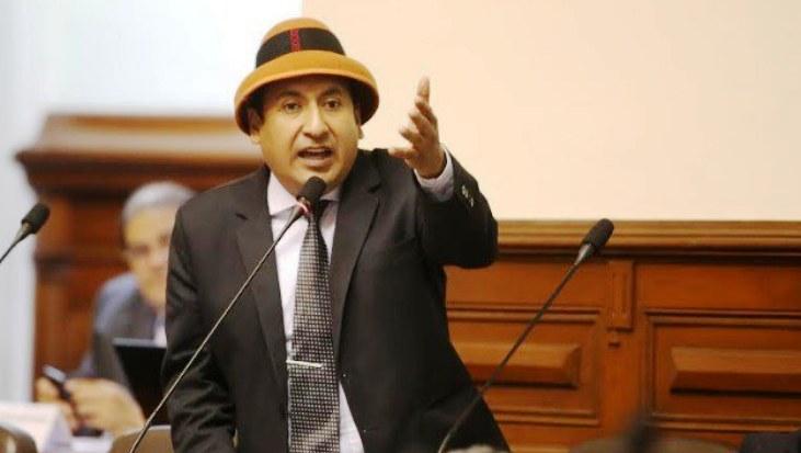 Richard Arce, congresista por Frente Amplio. Foto: larazon.pe