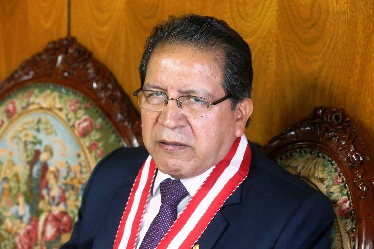 Pablo Sánchez. Fiscal de la Nación. Foto: Andina