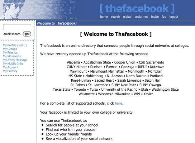Evolución de Facebook. Foto: nosinmiscookies.com