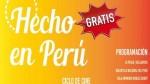 Ministerio de Cultura proyectará gratis 18 películas de 'Hecho en Perú' - Noticias de biblioteca nacional