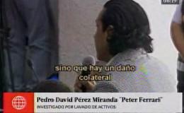 Peter Ferrari: juez dictó 18 meses de prisión preventiva en su contra