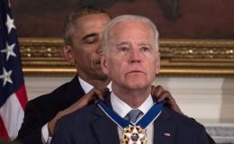 Obama hace llorar a Biden entregándole la máxima condecoración civil