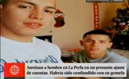 Callao: joven baleado habría sido confundido con su gemelo