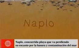 #YoCuidoLaPlaya: Naplo está catalogada como playa no saludable