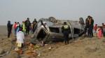 Cuatro heridos se registraron en accidente vehicular en Pasamayo - Noticias de accidentes vehicular