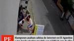 El Agustino: ladrón olvidó mochila con su DNI tras...