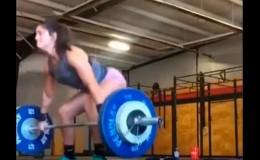YouTube: mujer trató de levantar demasiado peso y mira lo que sucedió