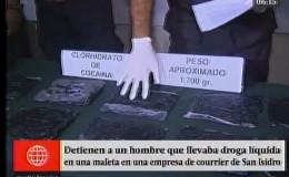 Detienen a hombre que llevaba droga oculta en ropa en San Isidro