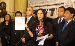Nadine Heredia apeló falló que condiciona su salida del Perú