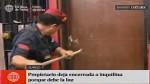Surco: Policía rescata a mujer y niños encerrados ...