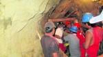 Arequipa: ocho mineros quedaron atrapados en socavón - Noticias de arequipa