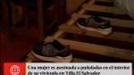 Villa El Salvador: mujer fue asesinada en su vivie...
