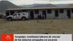 Arequipa: hallaron cuerpo de uno de los siete mine...