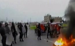 Chancay: bloquean la Panamericana Norte en demanda de puentes peatonales