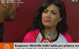 Michelle Soifer habló por primera vez sobre los videos de Erick Sabater en Colombia