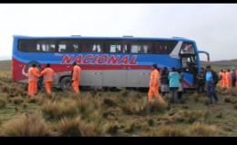 Huancavelica: delincuentes se llevan más de S/ 60 mil en asalto a dos buses