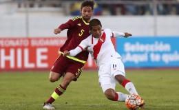 Perú empató 1-1 con Venezuela  por el Sudamericano Sub 20