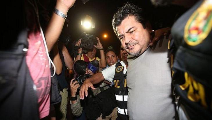 Odebrecht: Edwin Luyo fue trasladado al penal Ancón I
