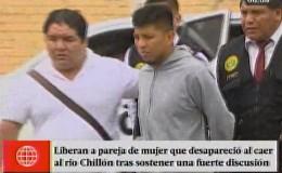 Dejaron libre a expareja de mujer que desapareció al caer al río Chillón