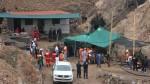 Arequipa: lluvia complicó rescate de mineros atrapados en socavón - Noticias de lluvias intensas
