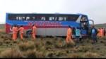 Huancavelica: delincuentes se llevan más de S/ 60 mil en asalto a dos buses - Noticias de rutas alternas