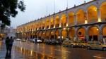 Arequipa mantendrá cielo nublado y lluvias intensas hasta el jueves 26 - Noticias de lluvia