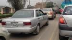 Chaclacayo: autos no respetan el sentido del tráfico - Noticias de erick varias