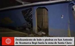 Jicamarca: huaico arrasó con viviendas y hasta levantó parte de la pista